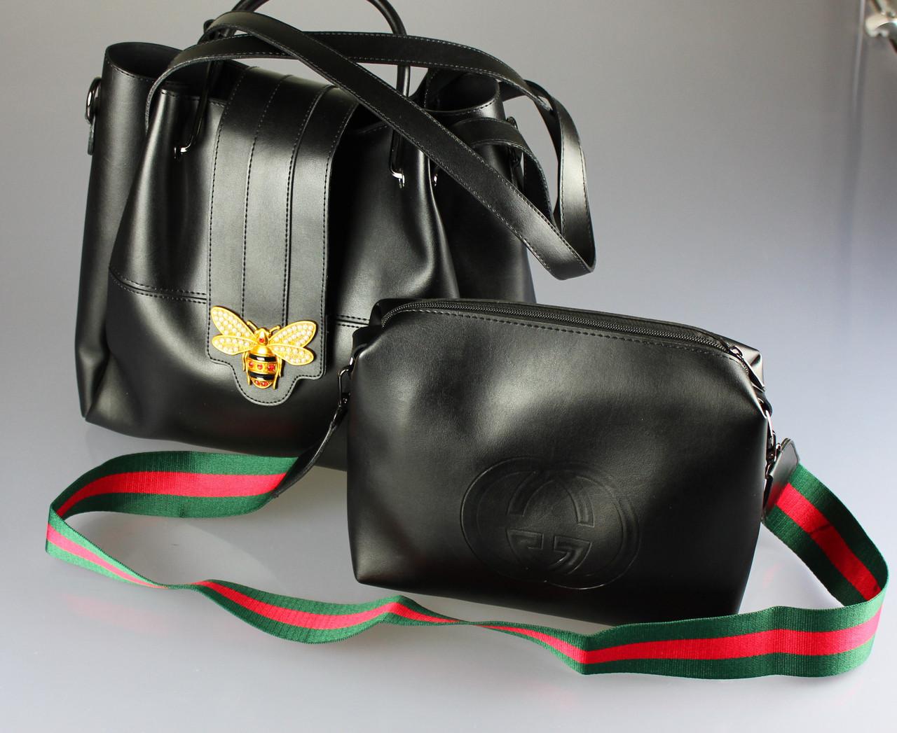 Женская сумка Gucci оптом. {есть:черный}