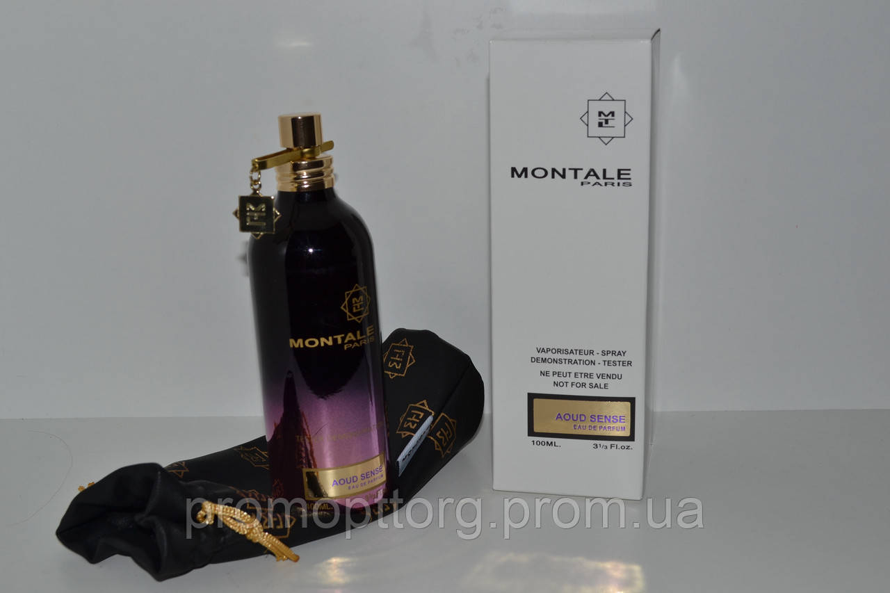 Тестер  Montale Aoud Sense (купить тестер монталь ауд сенс, лучшая цена)