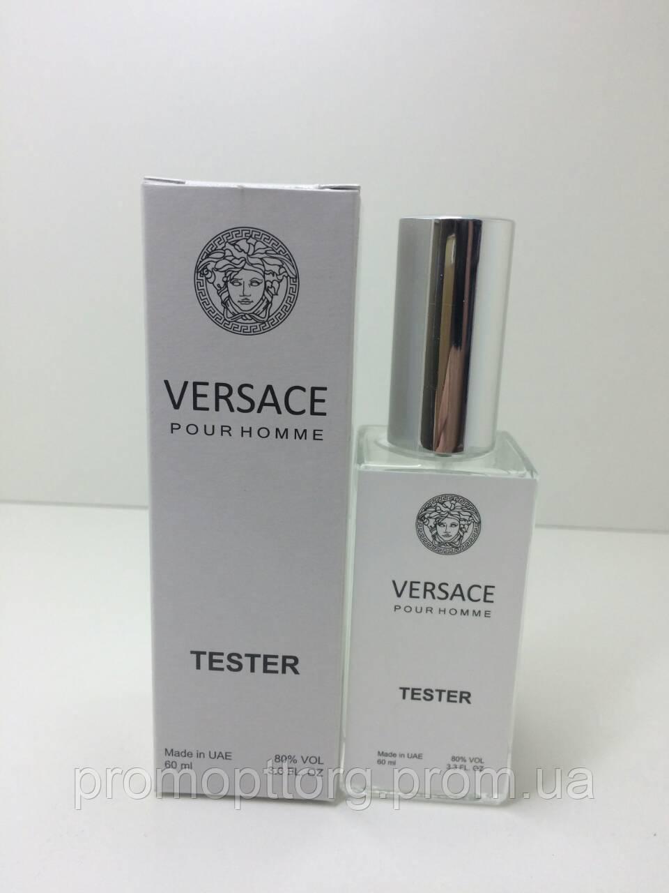 Мужская парфюмерия Versace Pour Homme тестер 60 ml