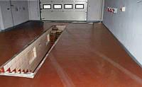 Обеспыливание пола в гараже, фото 1
