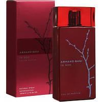 Женская парфюмированная вода armand basi red 50 ml красные