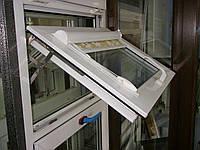 Фрамужные окна открывание снизу-вверх Одесса.Английские ножницы