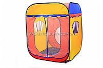 Детская игровая палатка домик ( куб ) 1402. Ребенок сможет комфортно играть в палатке., фото 4