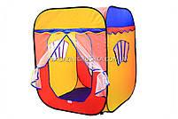 Детская игровая палатка домик ( куб ) 1402. Ребенок сможет комфортно играть в палатке., фото 3