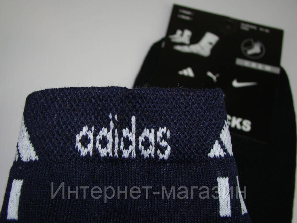 Носки мужские Adidas хлопок (42-45р) код 13059