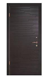 Двері вхідні комфорт+201 полотно 70мм