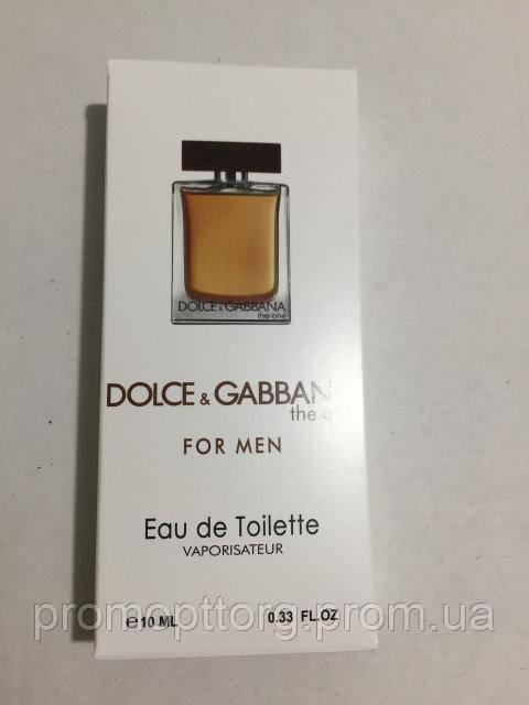 Мужская мини парфюмерия The One Dolce&Gabbana 10 ml DIZ