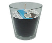 Ароматизированный стакан Промис-Плюс FEROMA CANDLE Coconut, фото 1