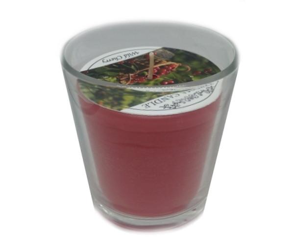 Ароматизированный стакан Промис-Плюс FEROMA CANDLE Whild cherry
