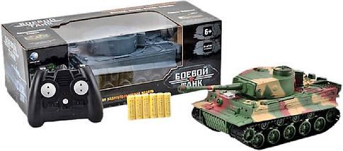 Боевой танк на радиуправлении 3828А+световые и звуковые эффекты Игрушка танк Подарок мальчишке Военная техника, фото 3
