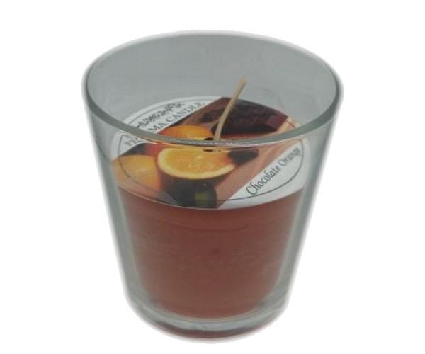 Ароматизированный стакан Промис-Плюс FEROMA CANDLE Orange Chokolate