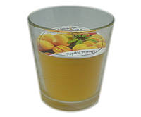 Ароматизированный стакан Промис-Плюс FEROMA CANDLE Mystery Mango, фото 1