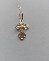 Детский православный серебряный крестик