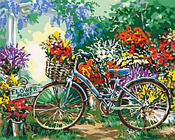 Живопись по номерам Идейка Цветочный рынок Худ Гелсингер Дона (KH5517) 40 х 50 см