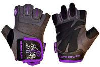 Перчатки для фитнеса женские Power System CUTE POWER
