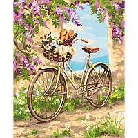 Раскраска по цифрам Идейка Деревенское утро (KH2207) 40 х 50 см
