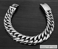 Мужской браслет панцирный панцирь подарок