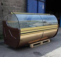 "Холодильная витрина ""COLD W 24 SGSP"" 2,4 м. (Польша) Золото Бу, фото 1"
