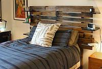 Варианты изголовья деревянной кровати