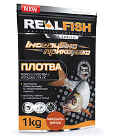 "Рыболовная прикормка RealFish ""ПЛОТВА"" Миндаль-Ваниль, фото 1"