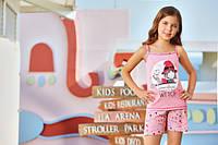 BERRAK Майка+шорты для девочки 6563