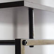 Стойка для одежды Квадро 5 (металл/дерево), фото 2