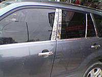 Suzuki Grand Vitara молдинг дверных стоек нерж.