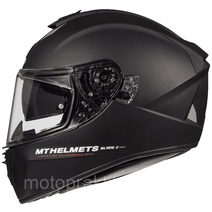 MT Blade 2 SV Solid A1 Matt Black, XS Мотошлем интеграл