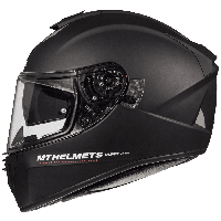 MT Blade 2 SV Solid A1 Matt Black, XS Мотошлем интеграл, фото 1