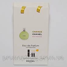 Мини парфюмерия женская Chanel Chance Eau Fraiche в подарочной упаковке 3х15 ml  DIZ
