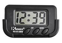 Часы в машину Kenko KK 613 BM, Часы электронные в авто, Маленькие автомобильные часы