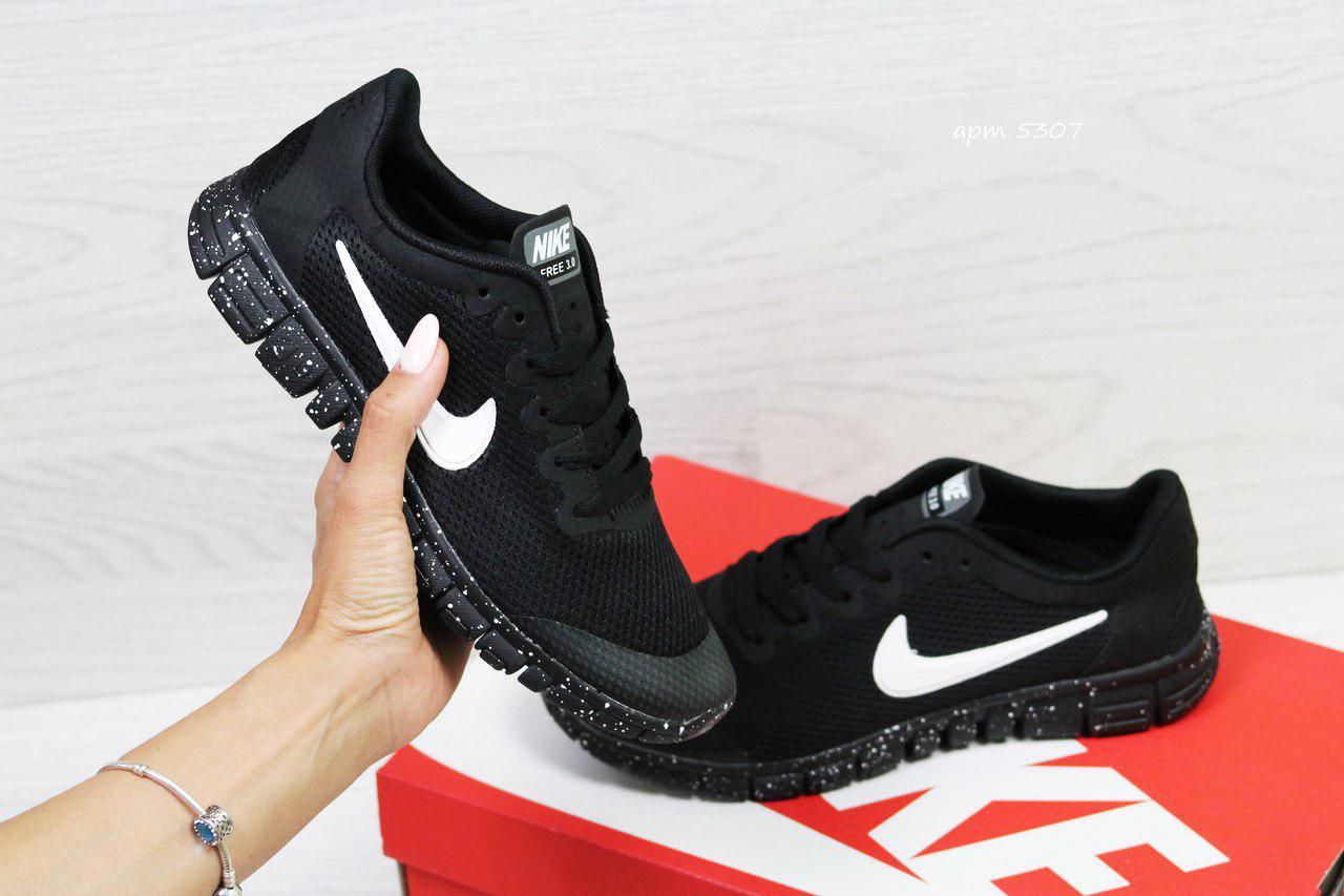 64c4c7b5 Кроссовки в стиле Nike Free 3.0 (черные) летние кроссовки найк nike 5307 -  Интернет
