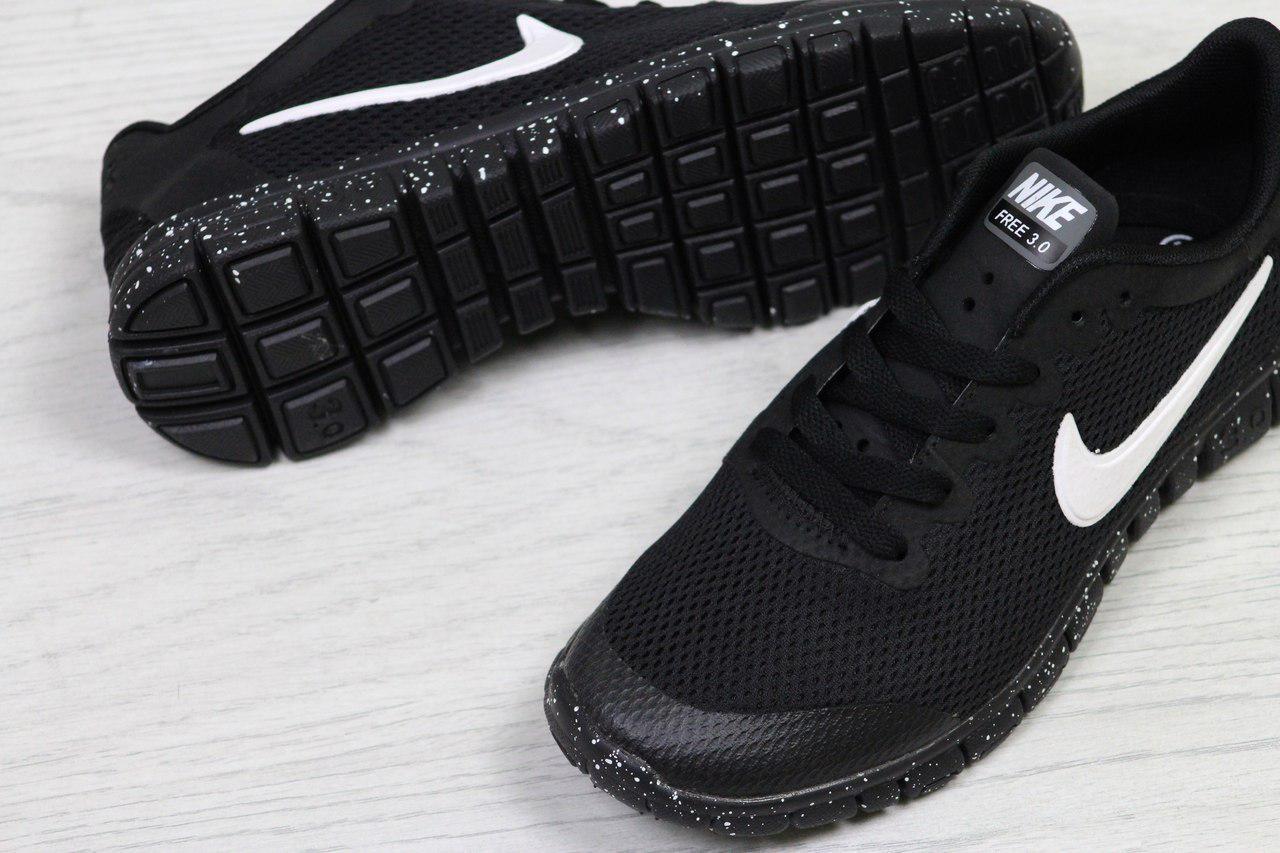 6d33febb ... фото Кроссовки в стиле Nike Free 3.0 (черные) летние кроссовки найк nike  5307, ...