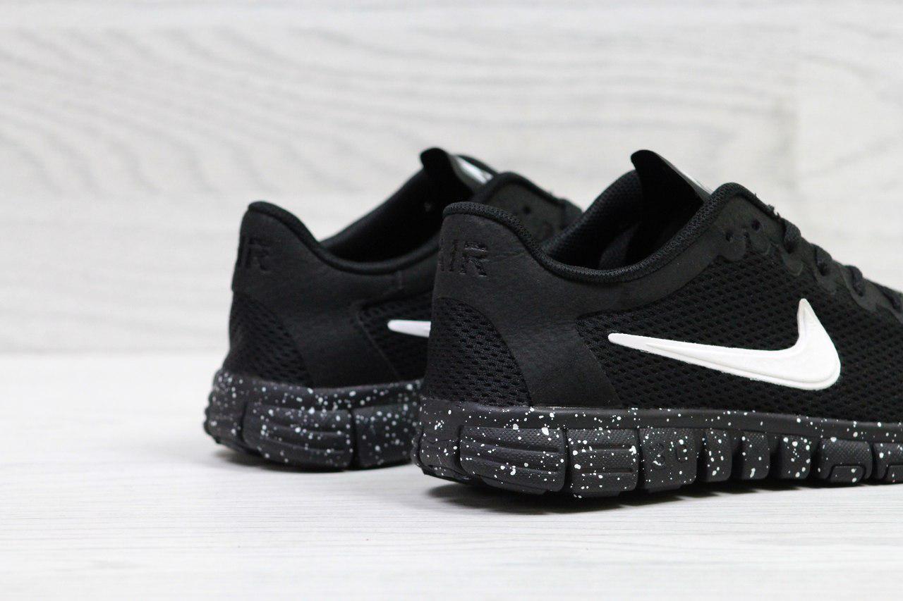 800516ac ... фото Кроссовки в стиле Nike Free 3.0 (черные) летние кроссовки найк nike  5307, фото