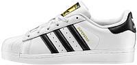 Мужские кроссовки Adidas Superstar White (в стиле Адидас Суперстар) белые
