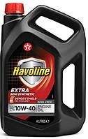 Моторное масло TEXACO Havoline Extra 10W-40 4 л.