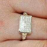 Кольцо с цирконами, фото 2