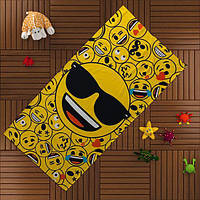 Пляжное полотенце TAC Emoji 75*150 см
