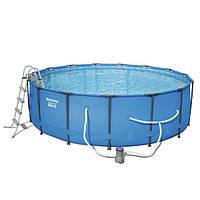Каркасный бассейн Bestway 56462 (549 х 122 см, круглый)