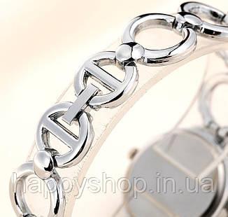 Женские кварцевые часы-браслет Lupai (Серебристые), фото 2