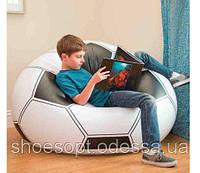 Надувное кресло Футбольный мяч Intex 108х110х66см
