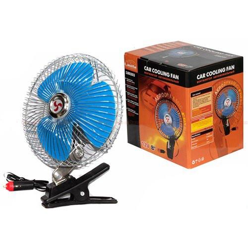 """Вентилятор Lavita 8""""(20 см) 12 вольт"""