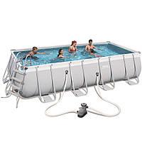 Каркасный бассейн Bestway 56465 (5,49 х 2,74 м, прямоугольный)