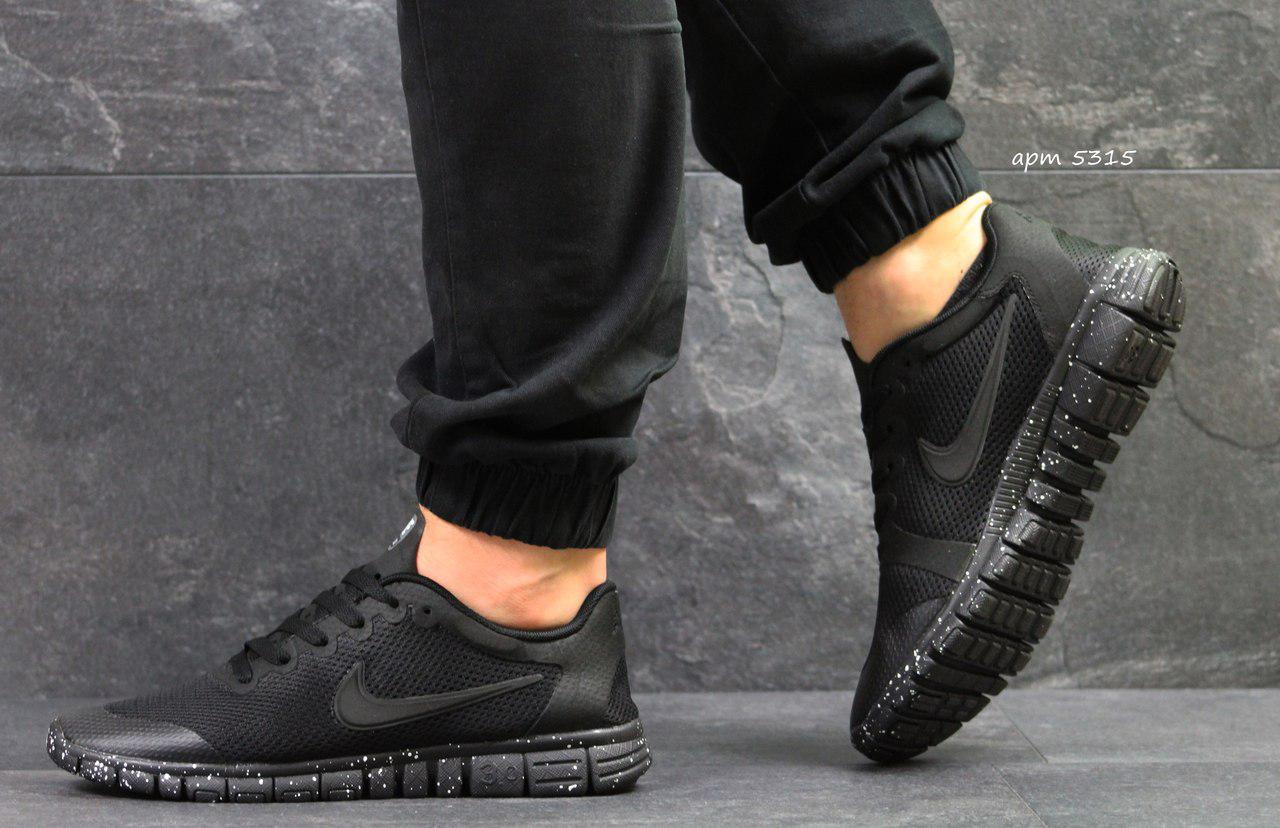 a4ba4f55 Кроссовки в стиле Nike Free 3.0 (черные) летние кроссовки найк nike 5315 -  Интернет