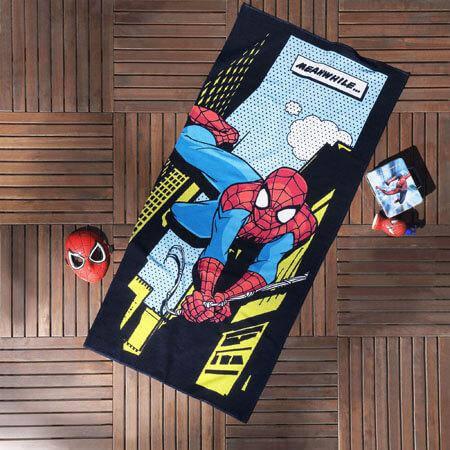 Пляжное полотенце TAC Spiderman Comics 75*150 см