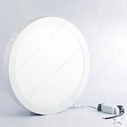 Накладной светодиодный светильник круг 24w Feron AL504 1920Lm 5000K