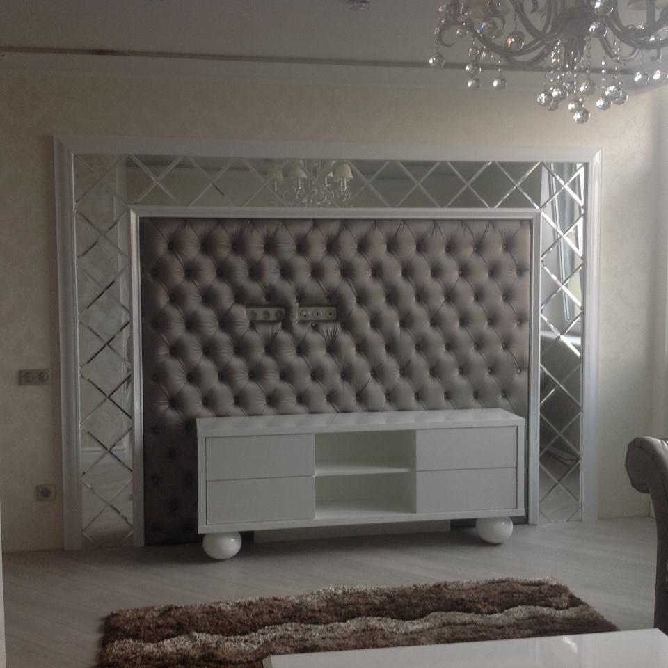 Стеновая панель под ТВ