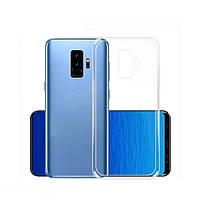 Силиконовый чехол 0,33 мм для Samsung Galaxy S9 Plus прозрачный