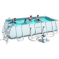 Каркасный бассейн Bestway 56466 (5,49 х 2,74 м, прямоугольный)