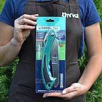 Пила ножівка розкладна Greenmill 18см